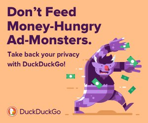 Take back your privacy with DuckDuckGo